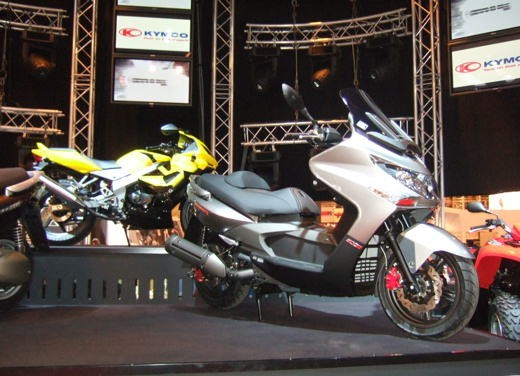 Kymco al Salone di Parigi 2007 - Foto 4 di 14