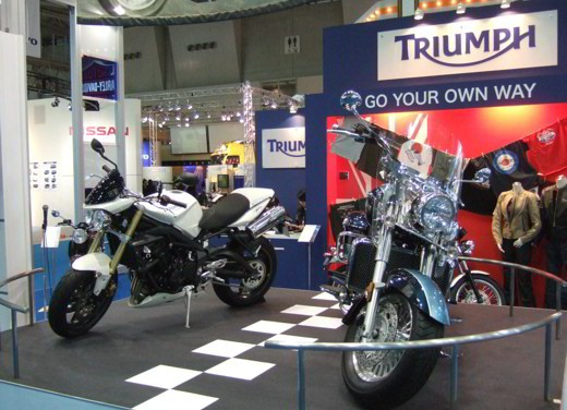 Triumph al Salone di Tokyo 2007 - Foto 5 di 12
