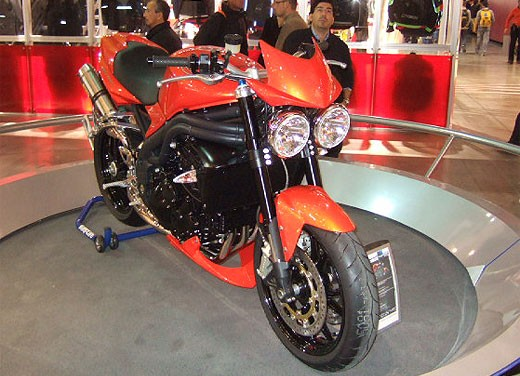 Triumph all'EICMA 2007 - Foto 12 di 13