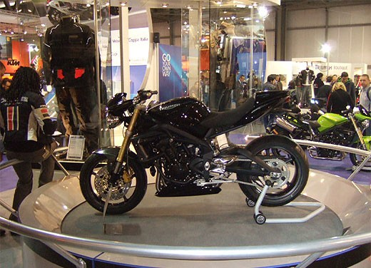 Triumph all'EICMA 2007 - Foto 9 di 13