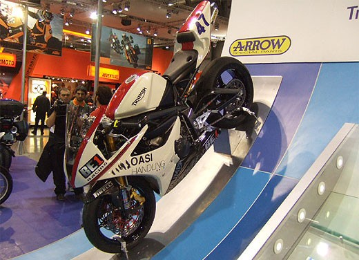 Triumph all'EICMA 2007 - Foto 4 di 13