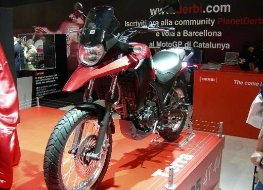 Derbi all'EICMA 2007