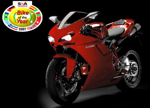 Ultimissime: Ducati 1098 'Best  Bike of the Year'