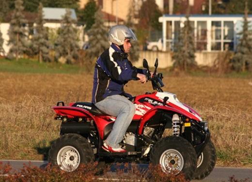 Polaris lancia Trail Blazer 330 E