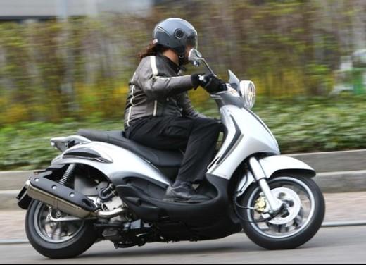Piaggio Beverly Tourer 2008 – test ride