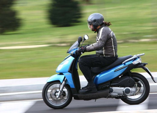 Piaggio Carnaby 2008 – test ride