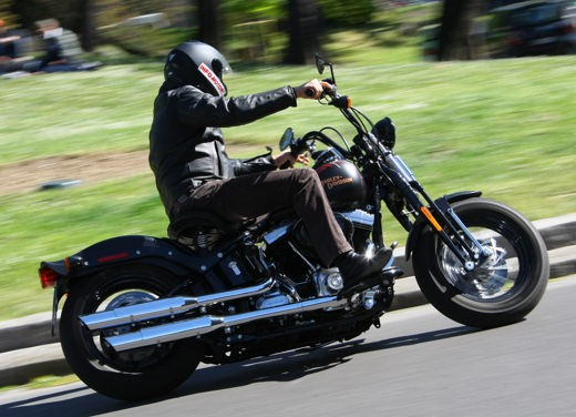 Harley-Davidson Softail Cross Bones – Test Ride - Foto 18 di 24