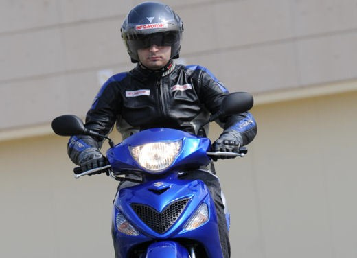 Suzuki Sixteen 125/150 – Test Ride - Foto 9 di 9
