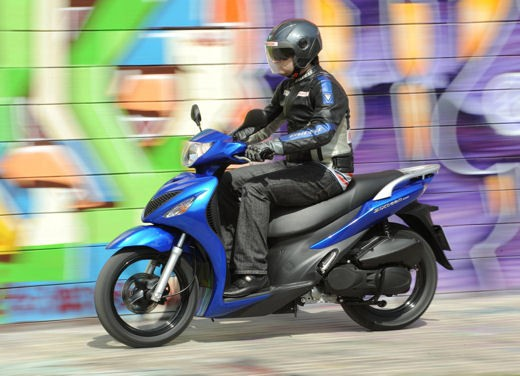 Suzuki Sixteen 125/150 – Test Ride - Foto 4 di 9