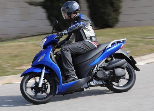Suzuki Sixteen 125/150 – Test Ride - Foto 8 di 9
