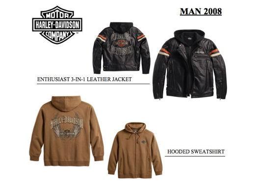 Abb&Acc: Harley-Davidson, la collezione 2008 - Foto 1 di 20
