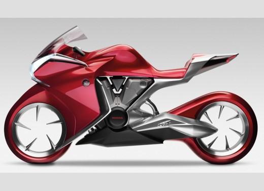 Honda V4 Concept - Foto 4 di 12