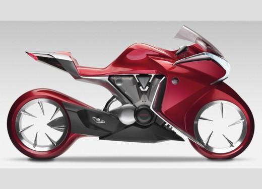 Honda V4 Concept - Foto 6 di 12