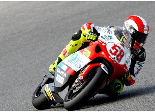 Marco Simoncelli campione del mondo 250 - Foto 11 di 13