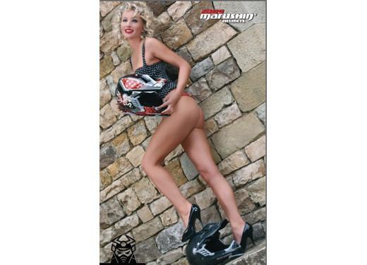 Calendario Marushin Helmets 2009 - Foto 11 di 15