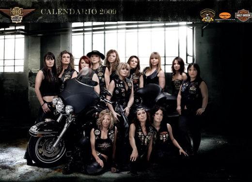 Calendario Harley Davidson 2009 - Foto 2 di 14