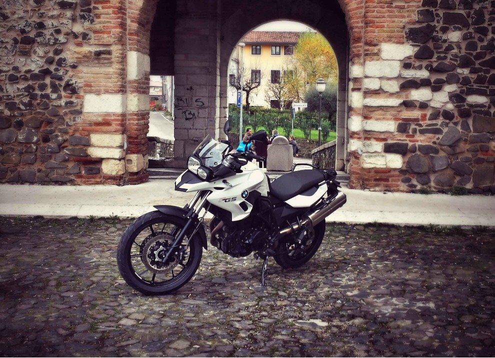 BMW F 700 GS,  provata su strada da Michela - Foto 3 di 10