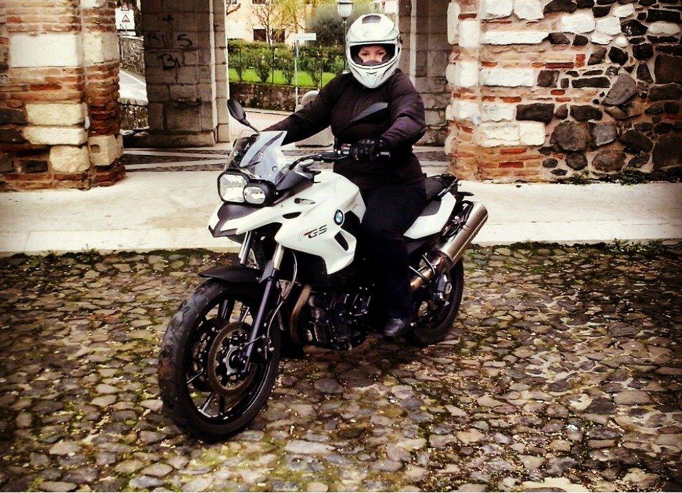 BMW F 700 GS,  provata su strada da Michela - Foto 4 di 10