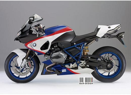 BMW HP2 m.y. 2014 rendering della versione standard e R - Foto 1 di 4