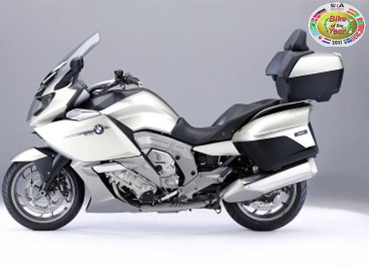 BMW K 1600 GT/GTL moto dell'anno 2011