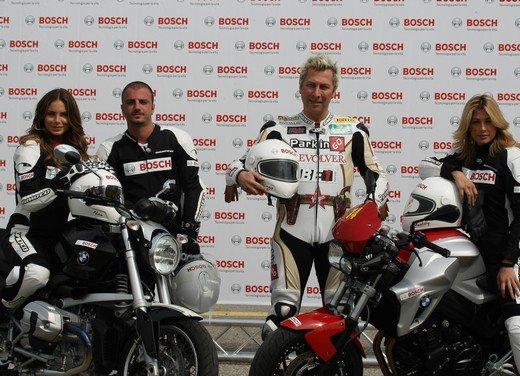 ABS Bosch, test ride del sistema antibloccaggio a Vairano