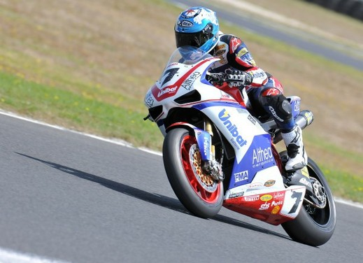 Test SBK Phillip Island