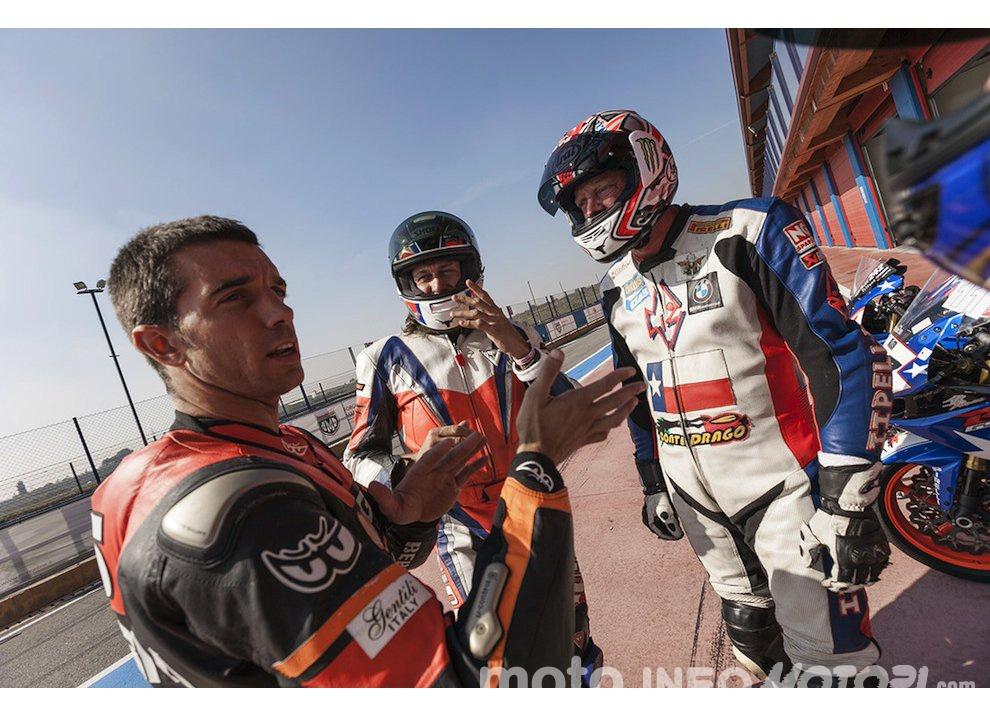 Corsi di guida coi grandi del motociclismo con corsidiguida.it e Motorace - Foto 10 di 12