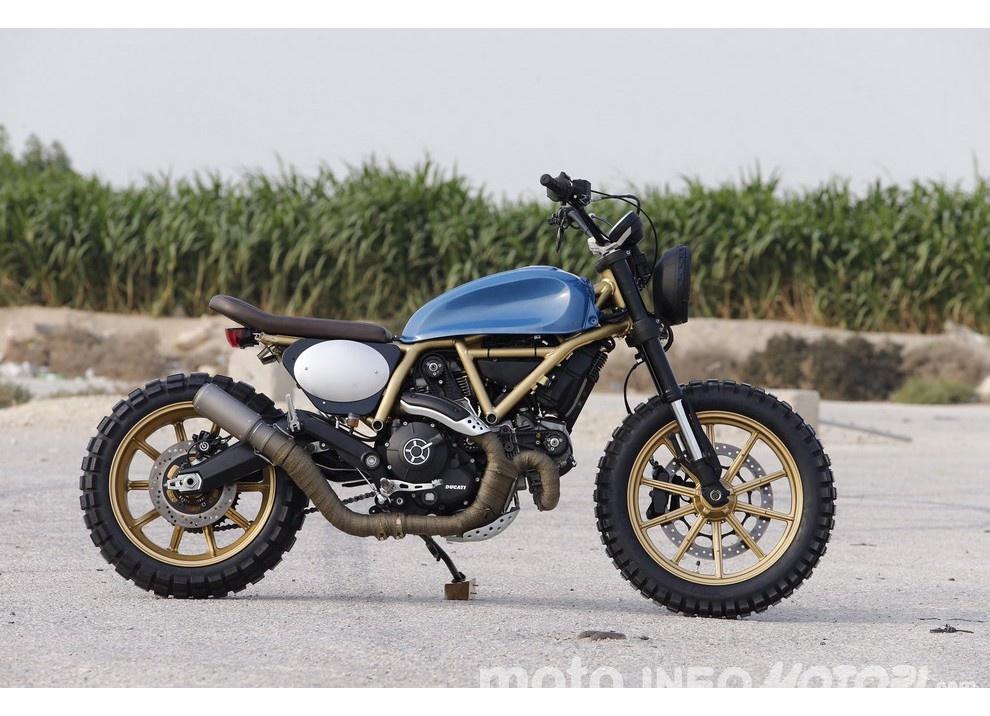 """""""Custom Rumble"""": ecco le 5 Special per la finale del concorso Ducati"""