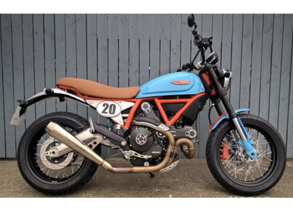 Custom Rumble: il concorso Ducati per gli Scrambler più belli - Foto 6 di 11