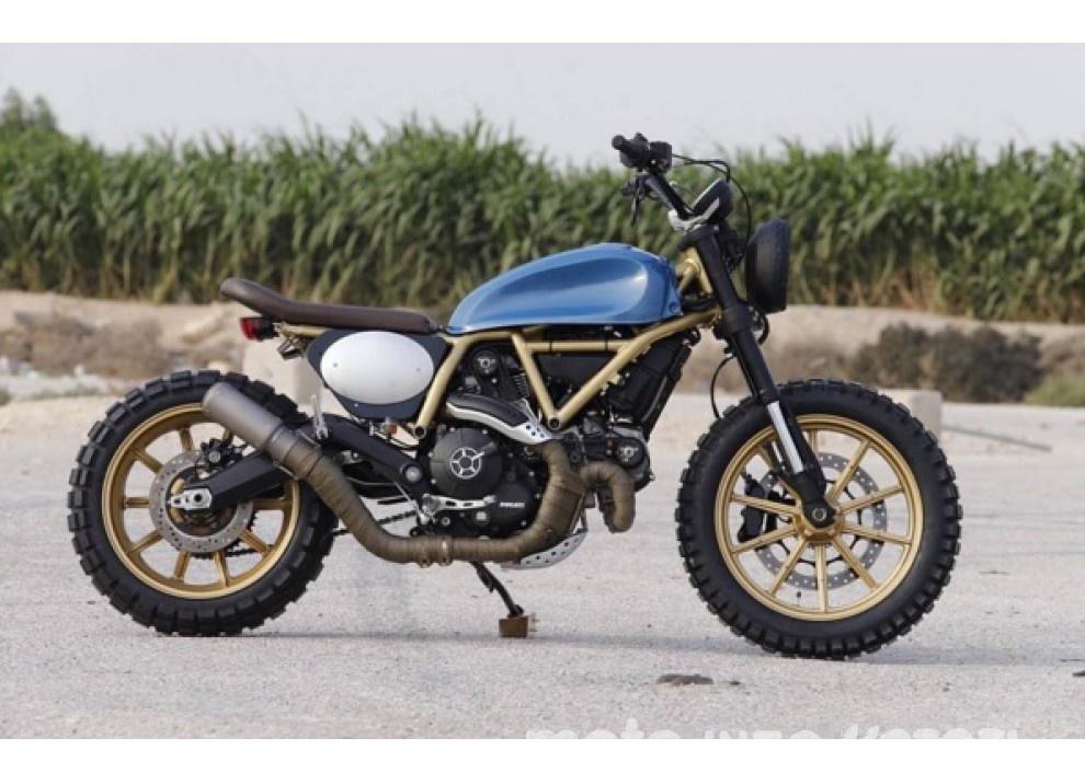 Custom Rumble: il concorso Ducati per gli Scrambler più belli - Foto 9 di 11