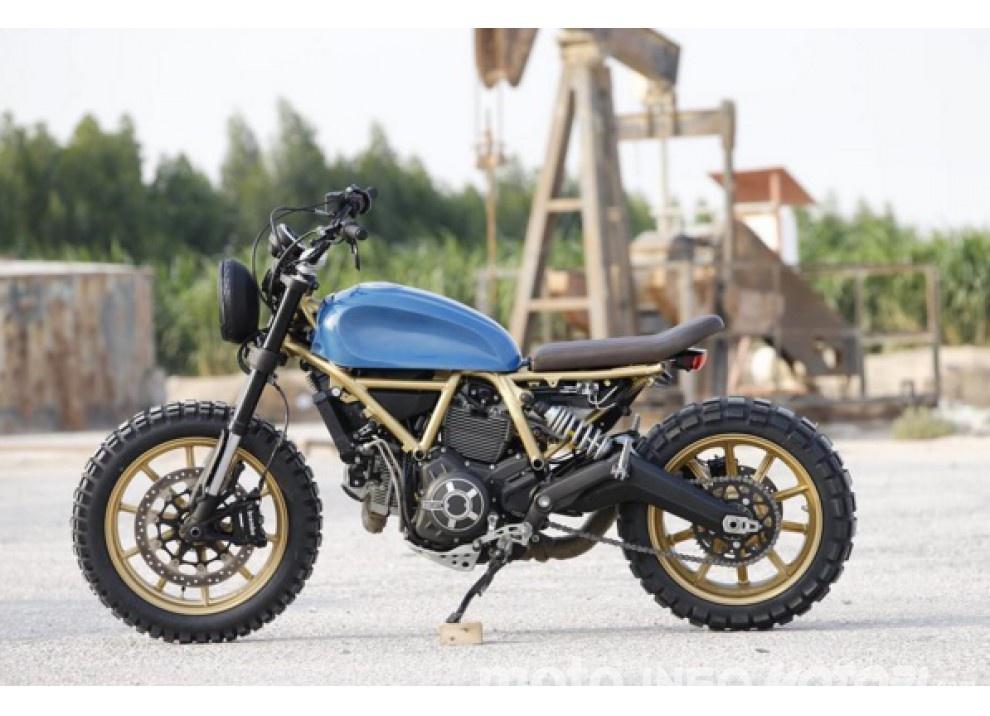 Custom Rumble: il concorso Ducati per gli Scrambler più belli - Foto 10 di 11