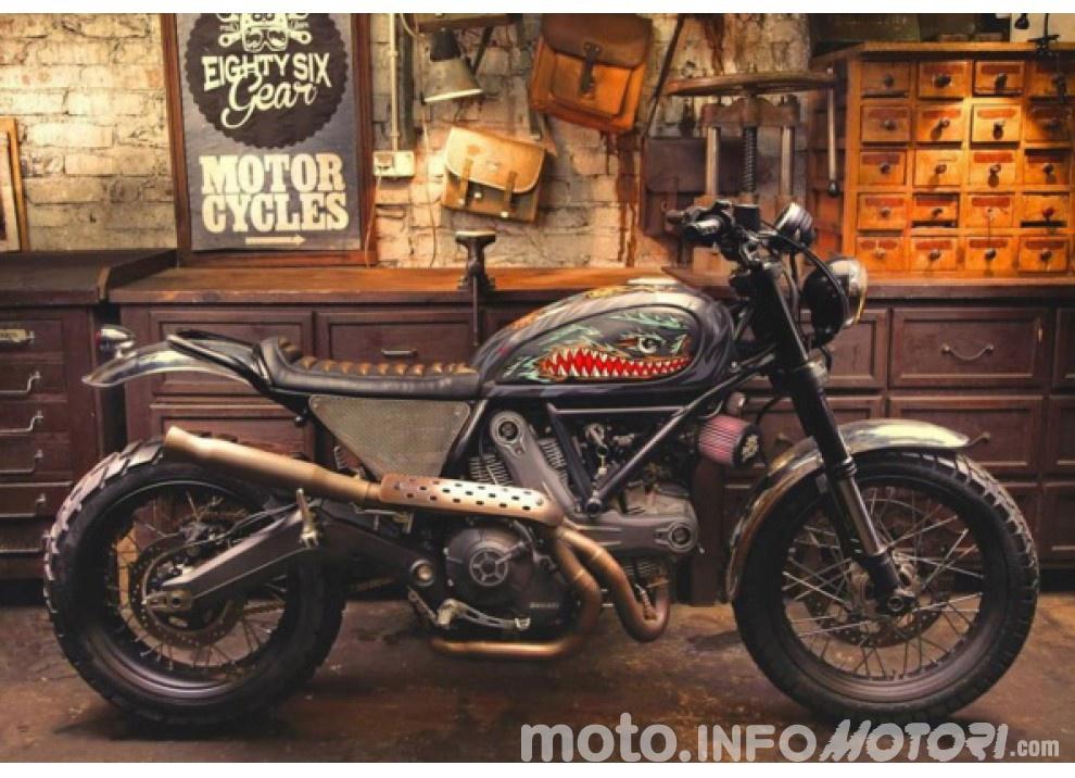 Custom Rumble: il concorso Ducati per gli Scrambler più belli - Foto 1 di 11