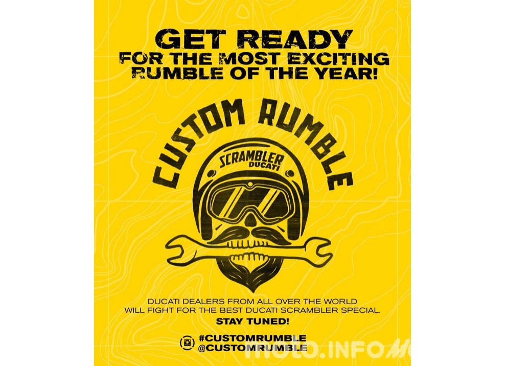 Custom Rumble: il concorso Ducati per gli Scrambler più belli - Foto 4 di 11