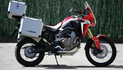 Honda Africa Twin: Valige, Top Case ed altri accessori