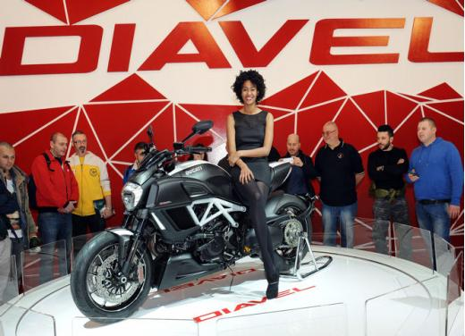 Ducati Diavel al Roma Motodays 2014 - Foto 1 di 9