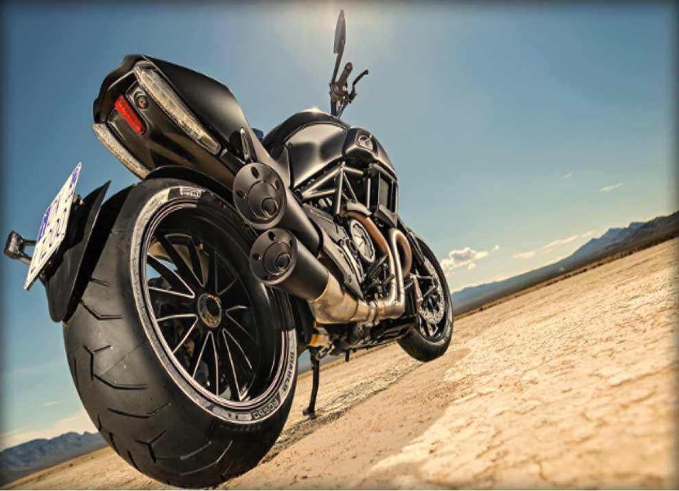 Ducati Diavel.