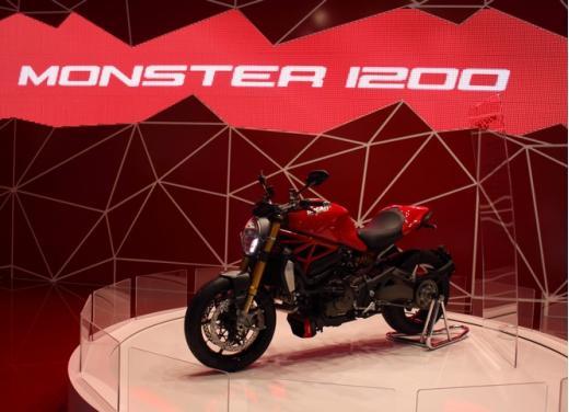 Ducati Monster 1200 eletta la moto più bella dell'Eicma 2013