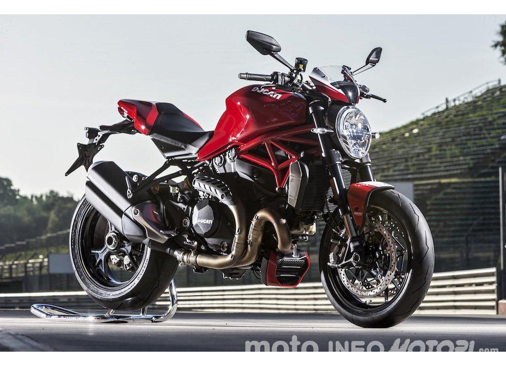 Ducati Monster 1200R: la più potente Ducati naked è Euro4