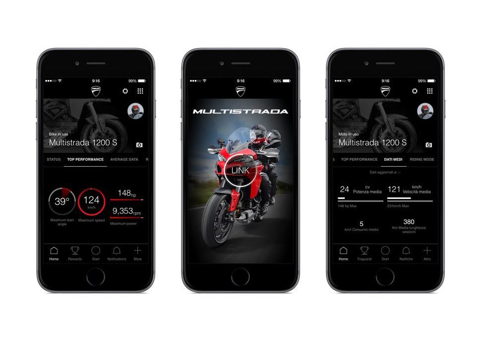 Ducati Multistrada Link: L'App che unisce il pilota, la strada e la moto