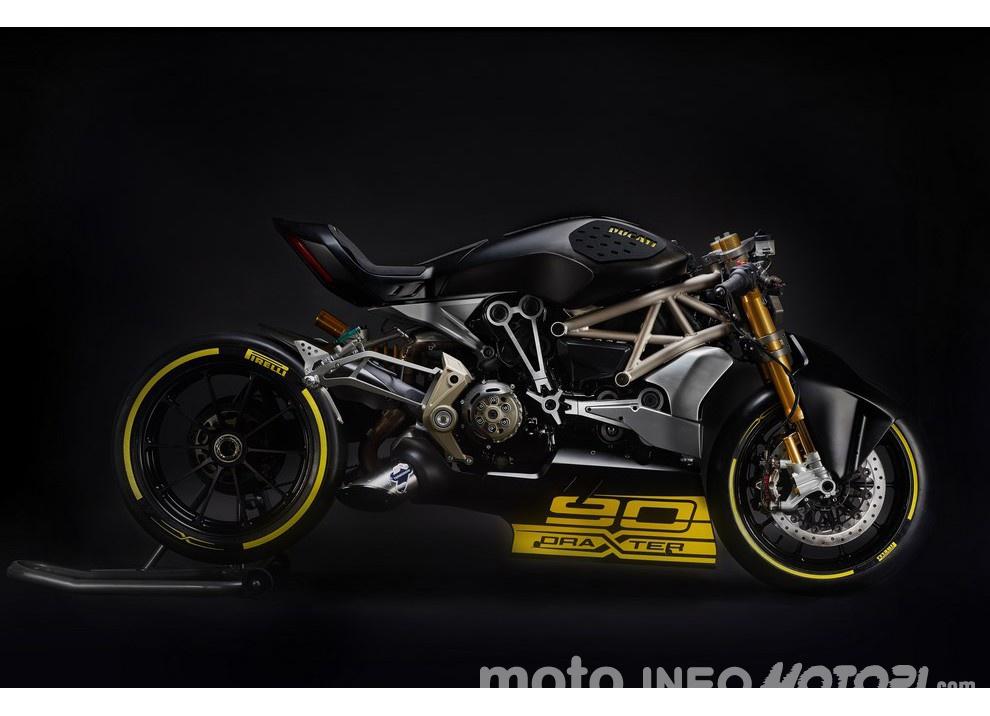 Ducati XDiavel DraXter: un concept sportivo al Motor Bike Expo 2016 - Foto 3 di 8