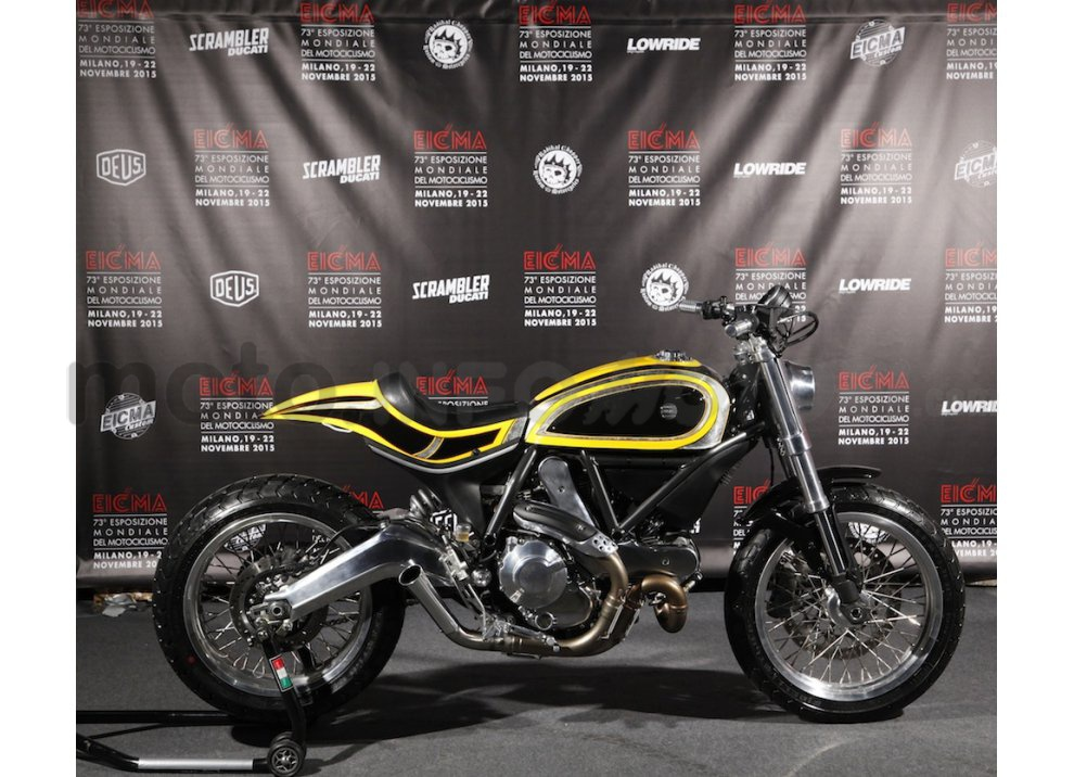 EICMA ed il Ducati Scrambler di Radikal Chopper