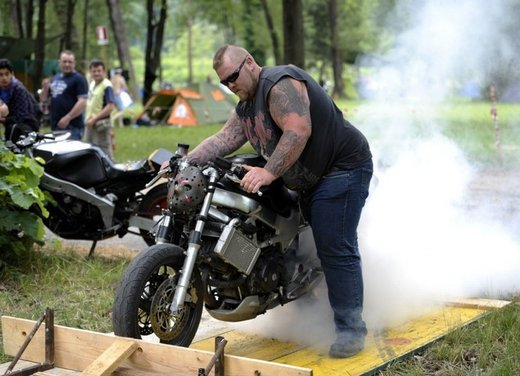 Moto Guzzi al Biker Fest 2012 a Lignano Sabbiadoro
