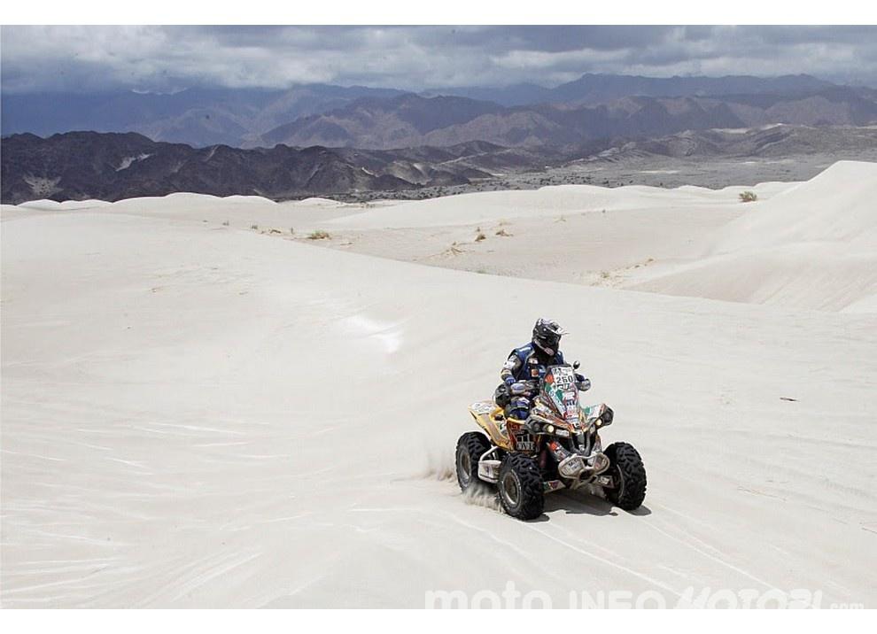 Franco Picco ottiene la ventesima posizione con il suo quad alla Dakar 2016