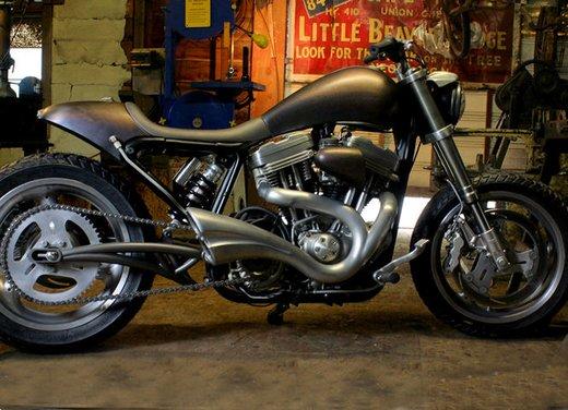 Harley Davidson XL883 Gun Baby by Cooper Smithing Company - Foto 4 di 17