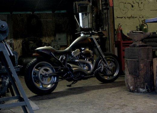 Harley Davidson XL883 Gun Baby by Cooper Smithing Company - Foto 6 di 17