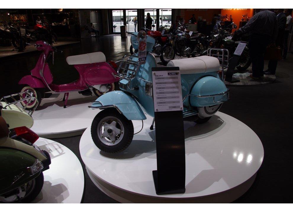 Gruppo Piaggio: imitazioni Vespa al Salone di Colonia 2014 - Foto 3 di 6