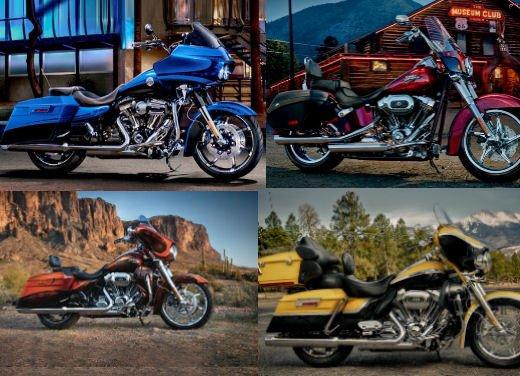 Harley Davidson modelli CVO 2012