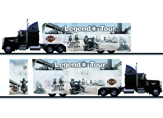Harley Davidson Legend on Tour 2012 - Foto 1 di 14