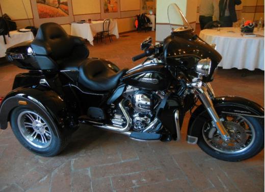 Harley Davidson Tri-Glide presentato a Erba: tre ruote per una moto da mito