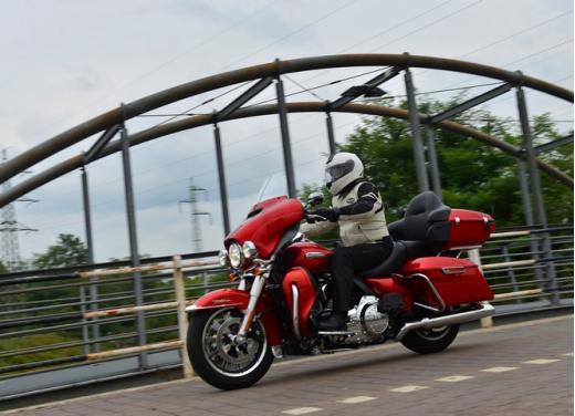 Harley-Davidson Electra Glide Ultra classic: prova su strada